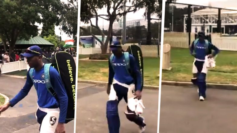 Banned Hardik Pandya Ignores Waiting Fans Outside SCG, Under-Fire All-Rounder Walks Past Them Ahead of 1st IND vs AUS ODI in Sydney: Watch Video