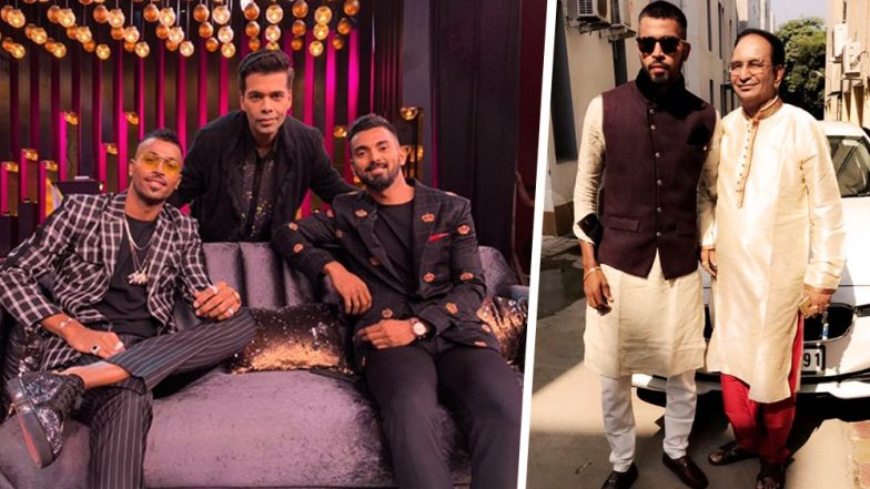 Hardik Pandya's Father Comes to His Defence Following Koffee With Karan 6 Controversy