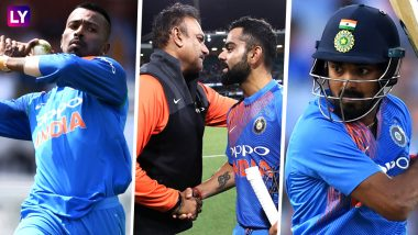 Will Hardik Pandya and KL Rahul's Absence in Indian Team Post KWK 6 Controversy Be a Blessing in Disguise During 2019 Series Against New Zealand?