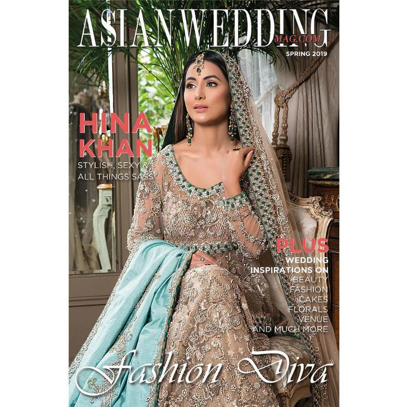 Hina Khan Looks Resplendent In Tehxeeb London S Bridal Couture For