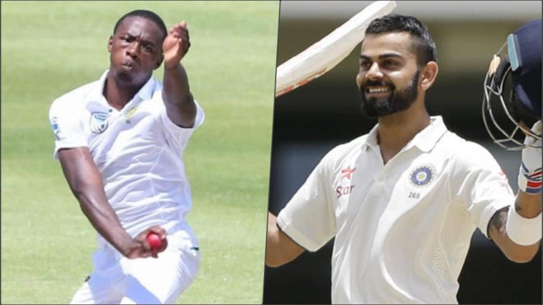 Latest ICC Test Cricket Rankings: Virat Kohli, Kagiso Rabada Maintain Top Spot in Test Player Rankings