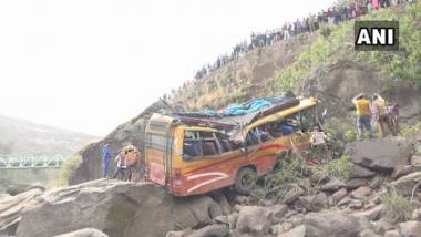 Jammu and Kashmir: 2 Killed, 28 Injured As Bus Falls into Gorge at Ramnagar-Udhampur Road
