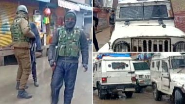 Jammu and Kashmir: Terrorists Attack Shairbagh Police Station With Grenade in Anantnag, Four civilians,  One CRPF Personal Injured