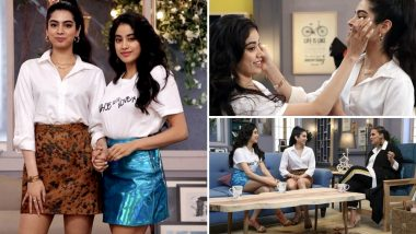 Khushi Kapoor and Janhvi Kapoor's BTS Pics From Neha Dhupia's BFFs With Vogue Season 3 Will Leave You Excited for the Episode
