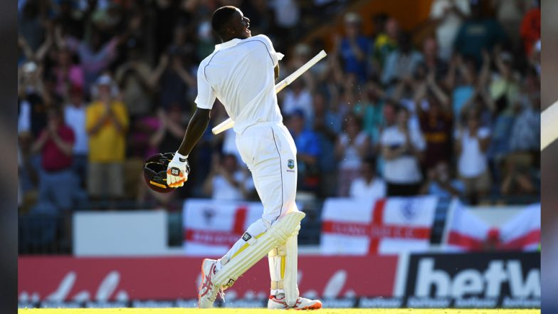 Jason Holder Joins Don Bradman, Wasim Akram, Allan Border & Others After Memorable 202* in 1st Test Against England: Check Test Records