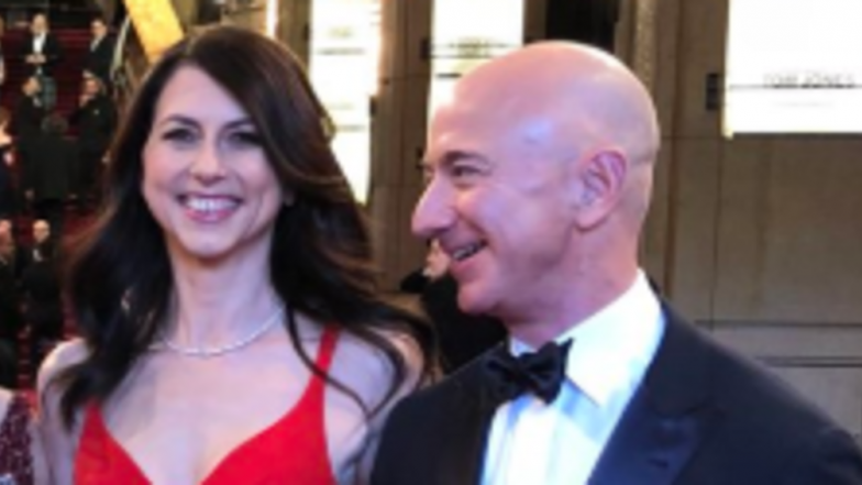 Amazon Founder Jeff Bezos, Wife MacKenzie To Divorce After 25 Years of Marriage