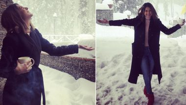Jennifer Winget is Crazy Happy as She Spends New Year Vacation in the Beautiful Snow-Clad Kashmir! (View Pics and Videos)