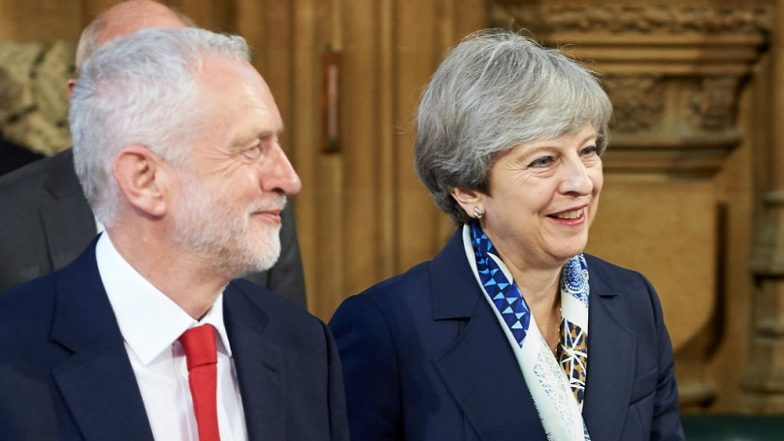 Brexit in 2019: Ahead of Crucial Vote Next Week, Jeremy Corbyn Blames Theresa May For 'Plunging UK Into Crisis'
