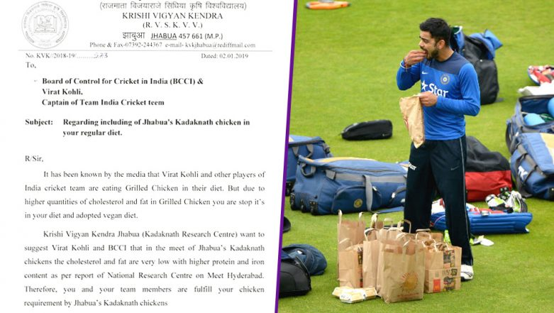 Virat Kohli, BCCI Appealed by MP Krishi Vigyan Kendra to Promote 'Kadaknath' Chicken