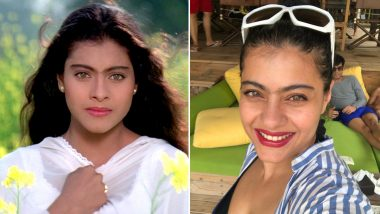 Kajol Shares a Selfie Flaunting Her Unibrow and We Were Instantly Reminded of DDLJ's Simran (View Pic)