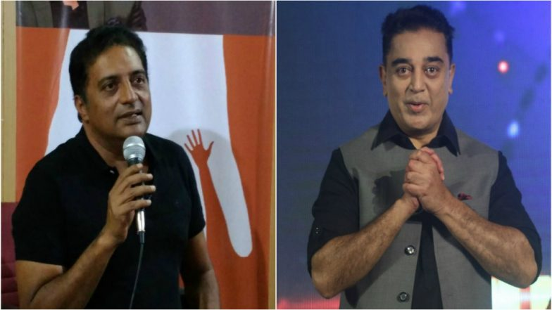 Lok Sabha Election 2019: Kamal Haasan Welcomes Prakash Raj's Entry into Politics