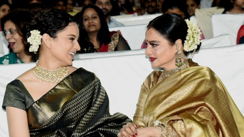 Kangana Ranaut is Like My Daughter, Declares Rekha!