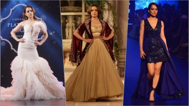 LFW 2019: Kangana Ranaut to Be Anushree Reddy's Showstopper in Lakme Fashion Week Summer/Resort