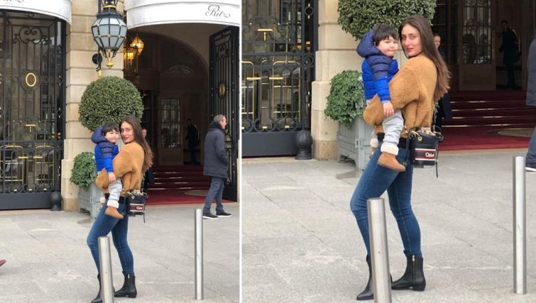 Is Taimur Ali Khan Helping Mommy Kareena Kapoor Fill Her Shopping Bags in Paris? - New Pic Alert