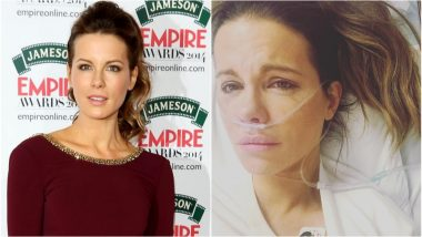 Kate Beckinsale Hospitalised After Suffering a Ruptured Ovarian Cyst, Posts Pictures With a Nasal Cannula In!