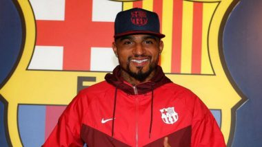 FC Barcelona Coach Ernesto Valverde Compliments New Player Kevin-Prince Boateng Ahead of Sevilla Clash