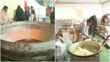 5000 kg 'Khichdi' Cooked for BJP's 'Bhim Mahasangam Vijay Sankalp' Rally in Delhi