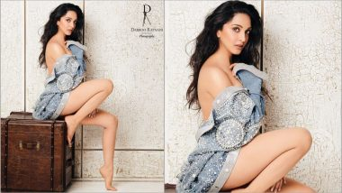 Kiara Advani Makes a Hot Debut on Dabboo Ratnani 2019 New Year Calendar, Puts On a Very Risqué Display (See Sexy Photo)