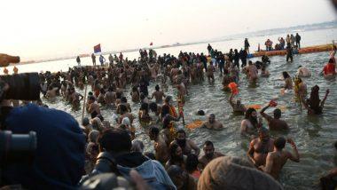 Kumbh Mela 2019 Opens: Devotees Take Holy Dip in Ganga and Yamuna on Occasion of Makar Sankranti