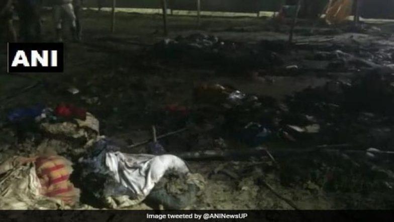 Kumbh Mela 2019: Fire Erupts at Kalpavasi Camp in Prayagraj, No Casualties Reported