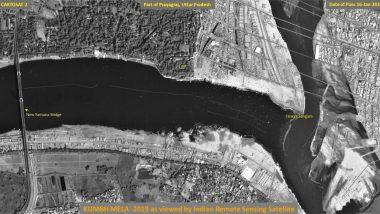 Kumbh Mela 2019 Pictures From Space: ISRO Releases Pictures of Prayagraj Taken Through Satellite Cartosat2