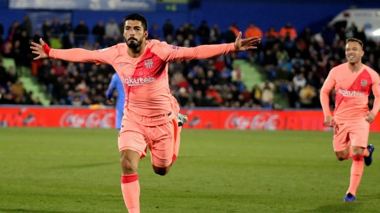 Barcelona vs Getafe, La Liga: Leo Messi, Luis Suarez Lead Barca to 2-1 Win Over Getafe
