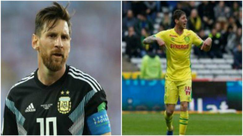 Lionel Messi Calls for Resuming Search for Missing Emiliano Sala