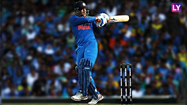 MS Dhoni Scores 10,000 ODI Runs for India During 1st ODI Against Australia: Former Captain Becomes Fifth Indian Batsman to Reach Landmark Figure