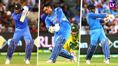 MS Dhoni Returns! Twitterati Hails Indian Wicket-Keeper Batsman's 'Man of the Series' Performance, Trolls Haters on Social Media
