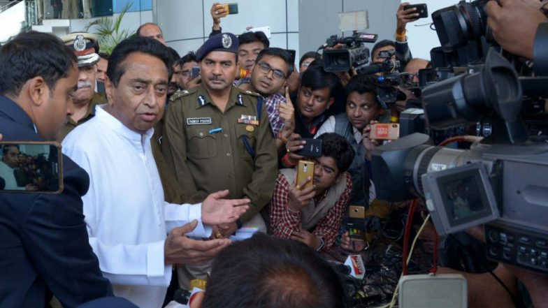 Kamal Nath Gives Stern Warning to Gau Rakshaks, Says 'Won't Spare Those Involved in Violence in Name of Cow'