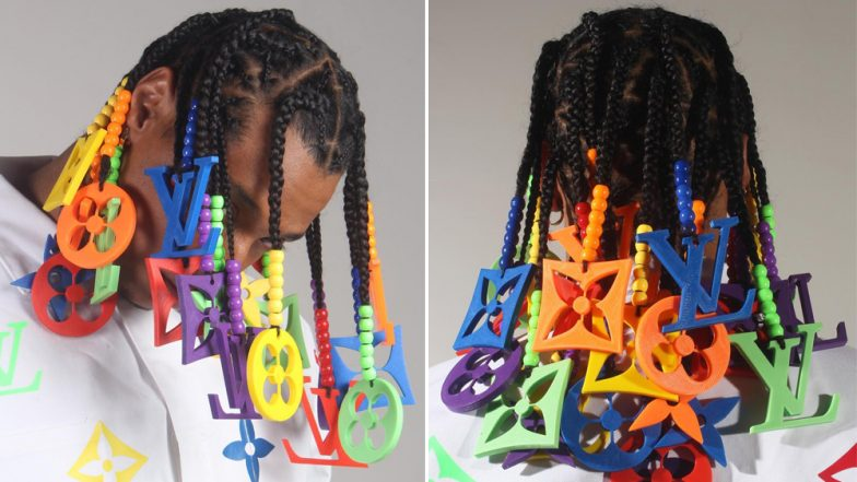 Colourful Louis Vuitton Hair Braids Go Viral Could They Be The Next