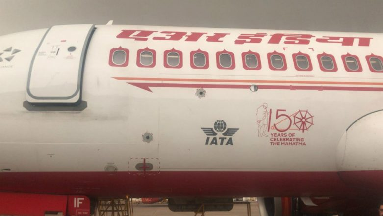 Air India Starts Flying with Logo of Mahatma Gandhi to Commemorate his 150th Birth Anniversary