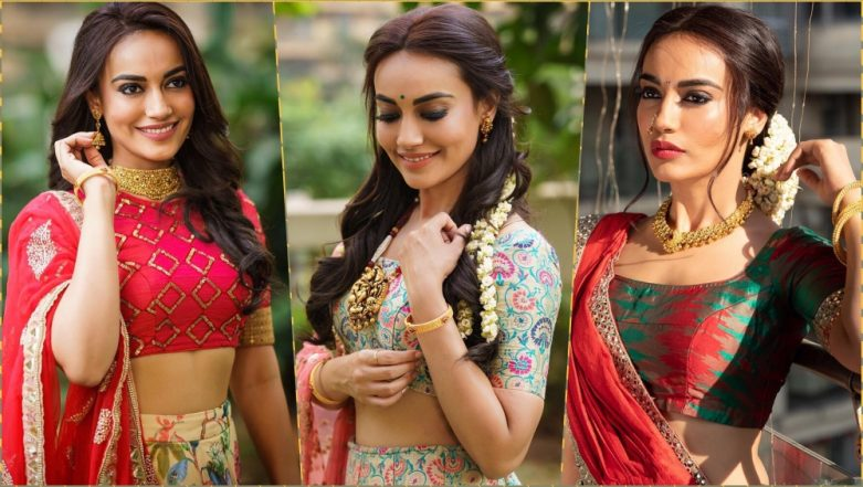 Naagin 3 Actress Surbhi Jyoti Wishes Makar Sankranti and Pongal 2019 With Beautiful Photos on Instagram
