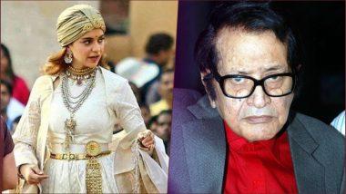 Manikarnika's First Movie Review Out: Kangana Ranaut Was Born to Play Role of Rani Laxmibai Onscreen, Says Manoj Kumar