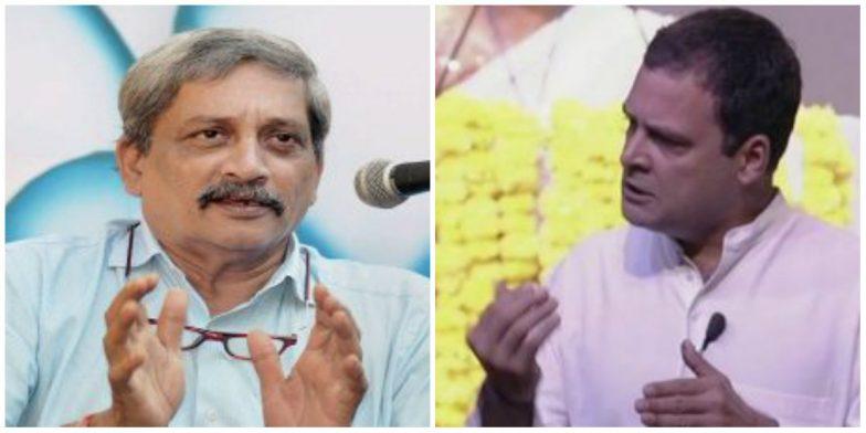 Rahul Gandhi Meets Goa CM Manohar Parrikar, Enquires About His Health and Raises Rafale Audio Tape Issue
