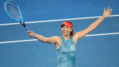 Maria Sharapova Knocks Defending Champ Caroline Wozniacki Out in Third Round of Australian Open 2019