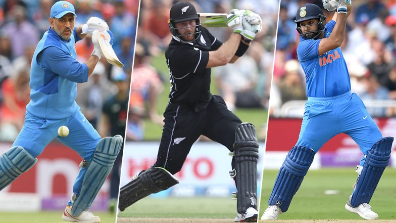 Martin Guptill Becomes Fastest New Zealand Batsman to Reach 6,000 ODI Runs; Outpaces Ricky Ponting, MS Dhoni, Rohit Sharma Among Others: Check List