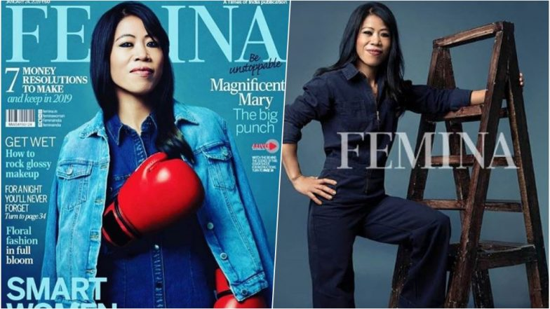 World Boxing Champion Mary Kom Makes a Badass Cover Girl for Femina Magazine's January 2019 Issue, See Pics