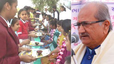 Asaram Organisation Gets Praise From Gujarat Education Minister For Celebrating Matru Pitru Divas on February 14