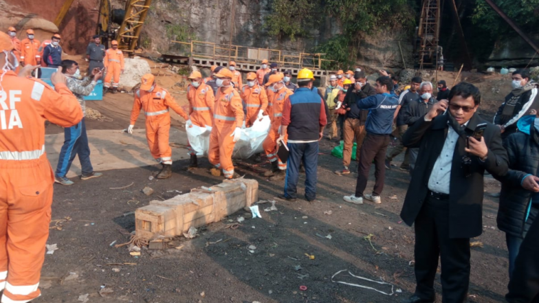 Meghalaya Rat-Hole Mining Tragedy: Indian Navy Recovers First Body, Sends its For Postmortem