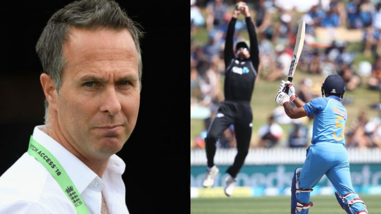IND vs NZ 4th ODI: Michael Vaughan Tries to Troll India After Batting Collapse, Fans Remind Him of England's Recent Debacle Against Windies
