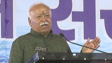 Sabarimala Temple Row: RSS Chief Mohan Bhagwat Questions Supreme Court Order, Says Hindu Sentiments Not Considered