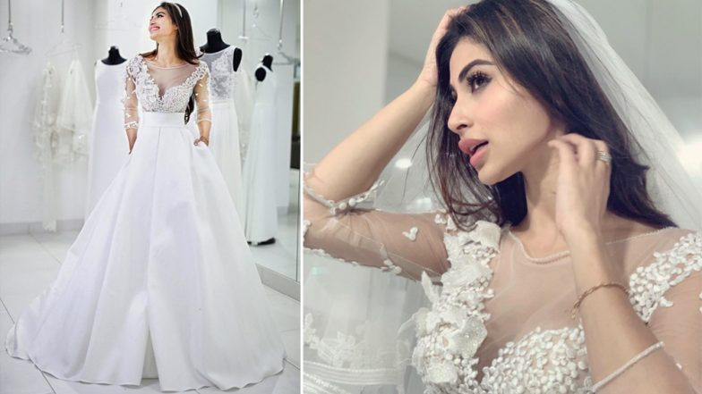 Is Mouni Roy Getting Married in Italy? See Pics of 'Romeo Akbar Walter' Actress Doll Up in a Beautiful Wedding Gown (Watch Video)