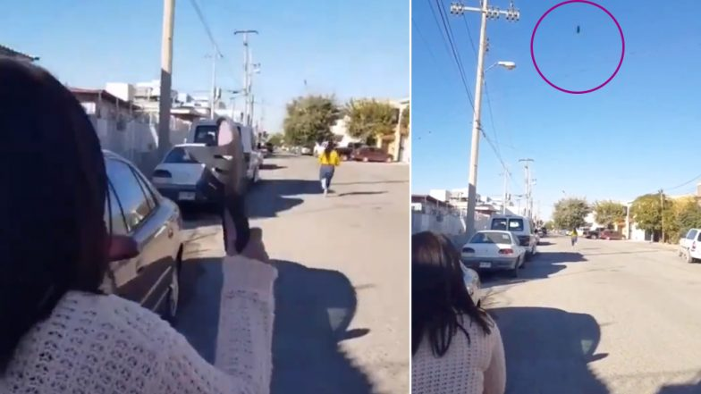 This Angry Mum's 'Flying Chappal' at Her Daughter is Well Received on The Internet, Check Funny Video From Mexico