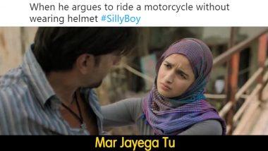 Gully Boy Meme Inspires Mumbai Police, Tells 'Mar Jayega Tu' to Those Driving Without Helmet