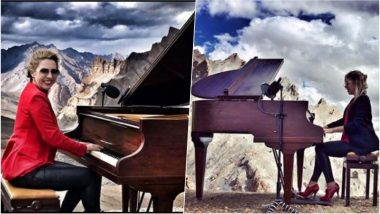 Classical Musician Evelina De Lain Sets Record by Performing World's Highest Concert on Himalayan Mountains, See Pics & Videos