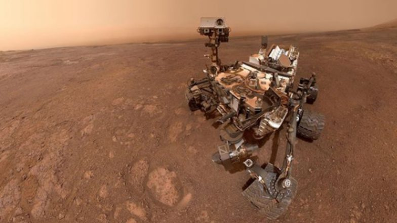 NASA's Curiosity Rover Shares Final Selfie From Mars' Vera Rubin Ridge; Bids Farewell Before Heading to Its Next Mission (View Pic)