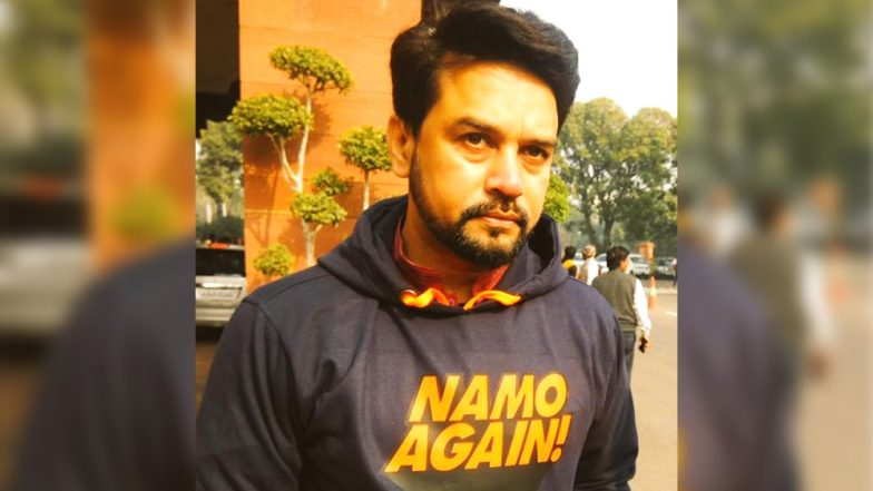 'NaMo Again' Hoodie Worn by BJP MP Anurag Thakur to Parliament; PM Modi Lauds Him on Twitter