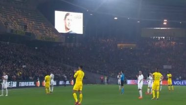 Nantes Draw 1-1 with Saint Etienne, Missing Emiliano Sala Remembered