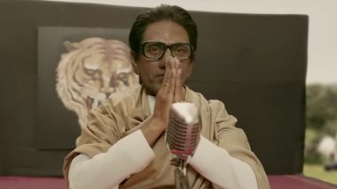 Thackeray Movie: Shiv Sena Workers Create Fuss at Vashi Multiplex For Not Putting Up Posters of the Nawazuddin Siddiqui Starrer